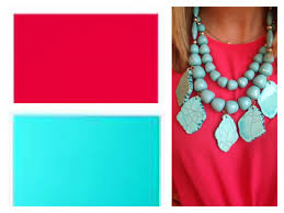 Blue And Red Color Combination by Catenya Mchenry Color Combos Teal Watermelon Red Catenya Mchenry