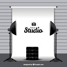 white background photography photography studio with white background vector free