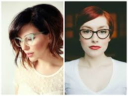 haircuts for faces with pointed chin the best short hairstyles to wear with glasses hair world magazine