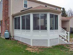 Patio Enclosure Systems Enclosed Front Porch With Storm Door Porch Enclosure In Brampton