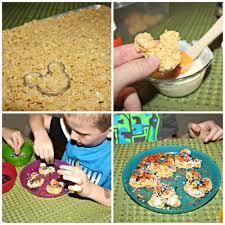 mini mickey krispie treats for halloween desert chica