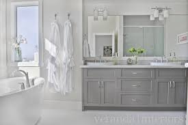 Veranda Interior Design by Gray Cabinets Contemporary Bathroom Veranda Interiors