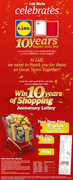 si e social lidl win 10 years of shopping lidl com mt