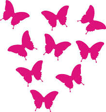 small butterfly stickers for walls or cars