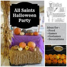 halloween party game ideas a knotted life all saints u0027 halloween party