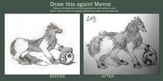 draw this again yin yang wolf by qualia matsuri on deviantart