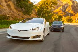 Car Dimensions In Feet by 2017 Chevrolet Bolt Ev Vs 2016 Tesla Model S 60 Comparison
