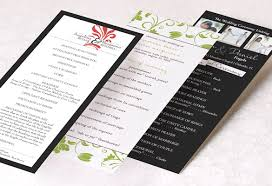tea length wedding programs wedding program wording templatestruly engaging wedding