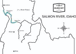 Idaho Hunting Unit Map Salmon River Rafting Company