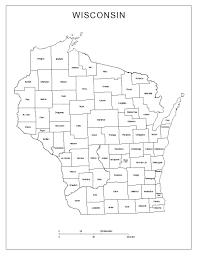 Map Of Usa States With Names by Maps Of Wisconsin
