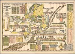 World Map Timeline by Vintage Infodesign 151 Visualoop