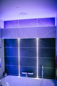 The Led Inside The Grout Line Is Amazing How Was That Done