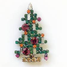 vintage austrian christmas tree brooch u2013 bancroft antiques