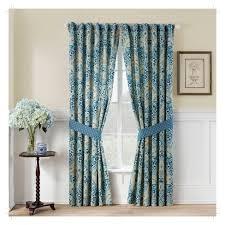 Waverly Curtain Panels Moonlit Shadows Curtain Panel Pair Blue 50 X84 Waverly Target