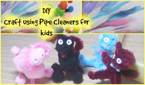 diy how to make pipe cleaner mini bear and dog easy pipe
