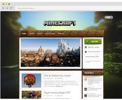 magicraft wordpress theme for minecraft