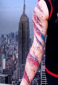 3d spiderman tattoo sleeve insigniatattoo com