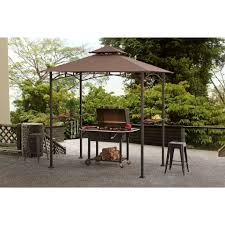 Sunjoy Tiki Gazebo by Sunjoy Grill Gazebo Canopies U0026 Gazebos Compare Prices At Nextag