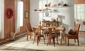 Overstock Dining Room Tables by How To Give Your Thanksgiving Table A Rustic Makeover Overstock Com