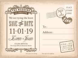 wedding invitations vector wedding invitations postcard design graphic vector 04 vector