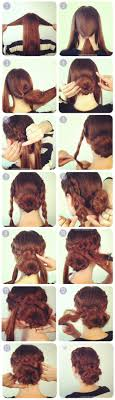 put your hair in a bun with braids 16 untraditional ways to wear your hair in a bun tiphero