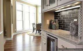 Slate Tile Backsplash Pictures And by Black Slate Subway Backsplash Tile Idea Backsplash Com