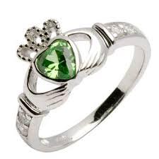 the claddagh ring silver claddagh birthstone ring silver claddagh rings