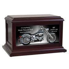 motorcycle urns motorcycle flames cremation urn in the light urns