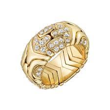 bvlgari vintage rings images Bulgari yellow gold diamond quot alveare quot band ring betteridge jpg