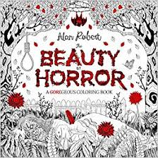 amazon beauty horror goregeous coloring book