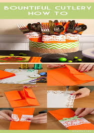 easy paper napkin folding for thanksgiving best images