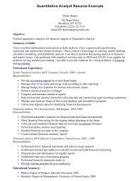Program Analyst Resume Samples by Resume Sample Data Analyst Resume