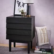 wood black iron nightstand products bookmarks design