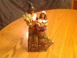 thanksgiving pilgrim figurines 10 inch pilgrim figurines ebay