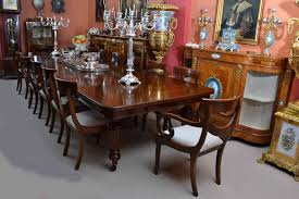 Victorian Dining Room Antique Victorian Dining Table And 14 Chairs C 1880 At 1stdibs