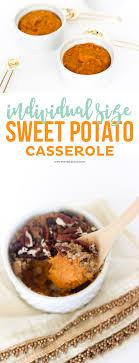 individual size sweet potato casserole printable crush