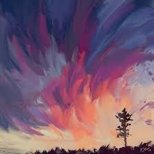 sunset sketch by o l i v i on deviantart