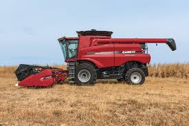 axial flow 7140 combine harvesting equipment case ih