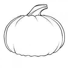 pumpkin black and white clipart u2013 fun for halloween