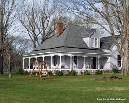 House With Wrap Around Porch Farm House Porches Country Porches Wrap Around Porches