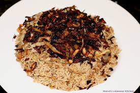 mujaddara lentils with rice and caramelized onions recipe s