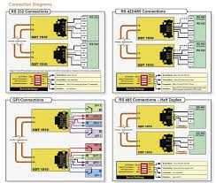 odt1510 rs232 rs422 485 gpi connections diagram lynx