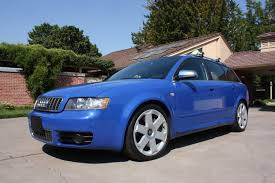 2004 audi s4 blue one owner 2004 audi s4 avant 6 speed for sale on bat auctions