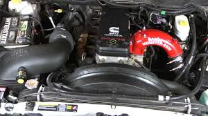 Dodge Truck Cummins Parts - banks ram air cold air intake system install youtube