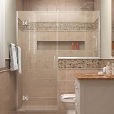 Ada Shower Door Dreamline Unidoor X 53 In To 53 1 2 In X 72 In Frameless Pivot