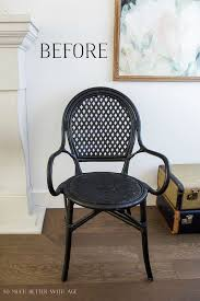 Ikea Bistro Chairs Diy French Bistro Chair So Much Better With Age