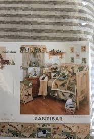 Zanzibar Crib Bedding Zanzibar Safari Animal Crib Bedding Baby In Garden Grove