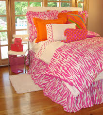 pink zebra print teen bedding collection teen bedroom ideas