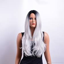 women everyday costume cosplay long body wave full wig hair black