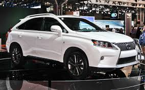 lexus rx 350 luxury package lexus rx 350 awd f sport luxury car reviews blog